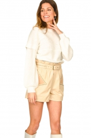 Dante 6 |  Cable sweater Oakly | natural  | Picture 4