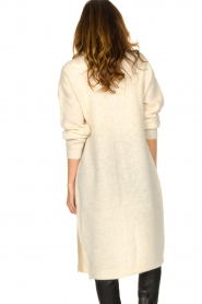 Dante 6 |  Knitted midi-cardigan Senly | natural  | Picture 6