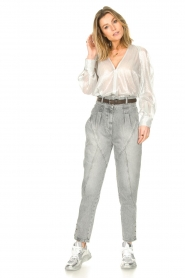 IRO |  High waist jeans Etel | grey  | Picture 3