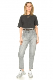 IRO |  High waist jeans Etel | grey  | Picture 4