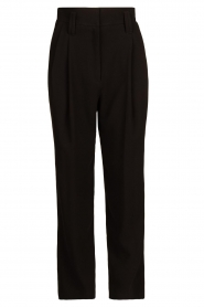 IRO |  High waist pantalon Rexo | black  | Picture 1