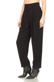 IRO |  High waist pantalon Rexo | black  | Picture 5
