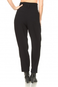 IRO |  High waist pantalon Rexo | black  | Picture 7