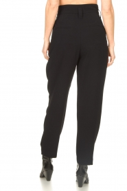 IRO |  High waist pantalon Rexo | black  | Picture 6