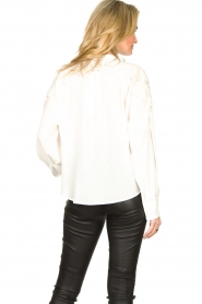 IRO |  Broderie blouse Calistro | natural  | Picture 5