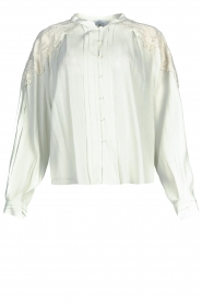 IRO |  Broderie blouse Calistro | natural  | Picture 1