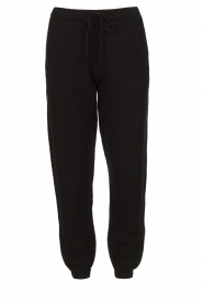 American Vintage |  Merino wool sweatpants Tadbow | black  | Picture 1