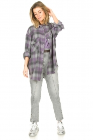 IRO |  Oversized blouse Gowest | grey  | Picture 3