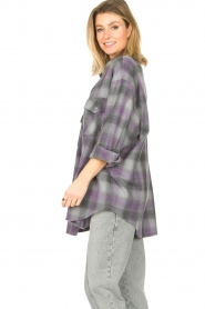 IRO |  Oversized blouse Gowest | grey  | Picture 5