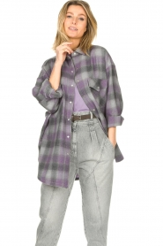 IRO |  Oversized blouse Gowest | grey  | Picture 4