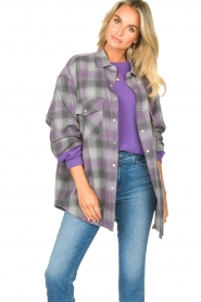 IRO |  Oversized blouse Gowest | grey  | Picture 2
