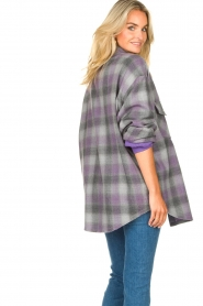 IRO |  Oversized blouse Gowest | grey  | Picture 7