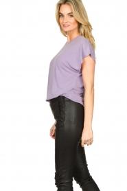 IRO    Soft t-shirt Paulina   purple    Picture 5