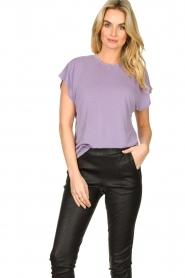 IRO    Soft t-shirt Paulina   purple    Picture 2