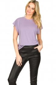 IRO    Soft t-shirt Paulina   purple    Picture 4