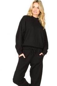 American Vintage |  Merino wool sweater Ted | black  | Picture 4