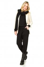 American Vintage |  Merino wool sweater Ted | black  | Picture 3