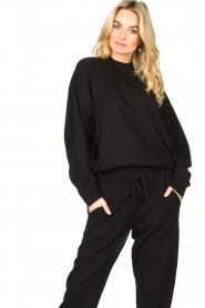 American Vintage |  Merino wool sweater Ted | black  | Picture 2
