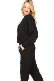 American Vintage |  Merino wool sweater Ted | black  | Picture 6