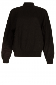 American Vintage |  Merino wool sweater Ted | black