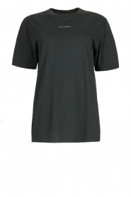 IRO |  Cotton oversized t-shirt Perry | black  | Picture 1