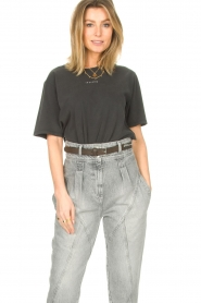 IRO |  Oversized t-shirt Perry | black  | Picture 4