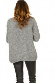 American Vintage |  Soft knitted cardigan Tudbury | grey  | Picture 5