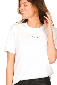 IRO |  Oversized t-shirt Perry | white  | Picture 8