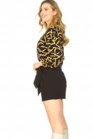 IRO |  High waisted short Steybe | black  | Picture 6