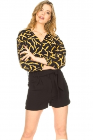 IRO |  High waisted short Steybe | black  | Picture 2