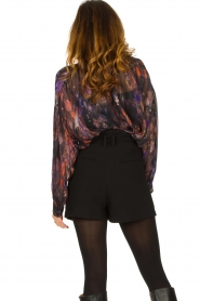 IRO |  Oversized blouse with puff sleeves Lade | multi  | Picture 7