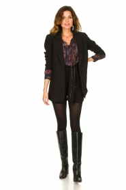 IRO |  Oversized blouse with puff sleeves Lade | multi  | Picture 3