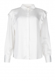 ba&sh |  Blouse with schoulder detail Alia | white  | Picture 1
