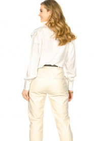 ba&sh |  Blouse with schoulder detail Alia | white  | Picture 6