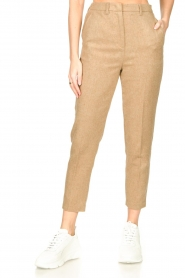American Vintage |  Wool mix trousers Vyenna | natural  | Picture 5