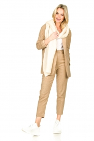 American Vintage |  Wool mix trousers Vyenna | natural  | Picture 3