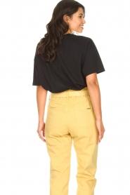 ba&sh |  Oversized cotton T-shirt Amor | black  | Picture 6