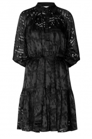 Second Female |  Semi sheer dress Harlie | black  | Picture 1