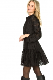 Second Female |  Semi sheer dress Harlie | black  | Picture 5