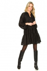 Second Female |  Semi sheer dress Harlie | black  | Picture 3
