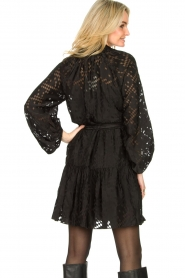 Second Female |  Semi sheer dress Harlie | black  | Picture 6