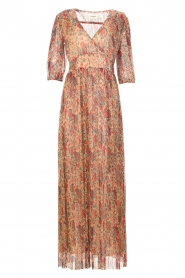 ba&sh |  Silk maxi dress with lurex Athena   | Picture 1