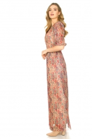 ba&sh |  Silk maxi dress with lurex Athena   | Picture 6
