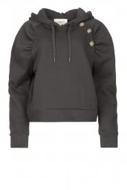 ba&sh |  Sweater with rhinestones Bora | black  | Picture 1