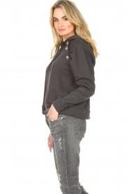 ba&sh |  Sweater with rhinestones Bora | black  | Picture 6