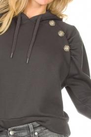 ba&sh |  Sweater with rhinestones Bora | black  | Picture 10