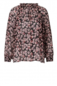 Second Female |  Floral top Fleurir | black  | Picture 1
