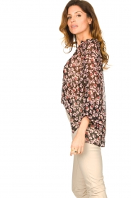 Second Female |  Floral top Fleurir | black  | Picture 5