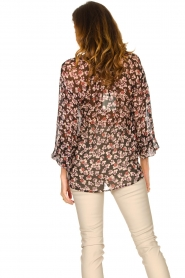 Second Female |  Floral top Fleurir | black  | Picture 6