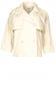 ba&sh |  Cotton trenchcoat Brone | natural  | Picture 1